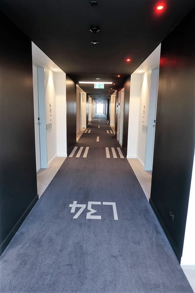 Pullman Sydney Airport Hotel hallway