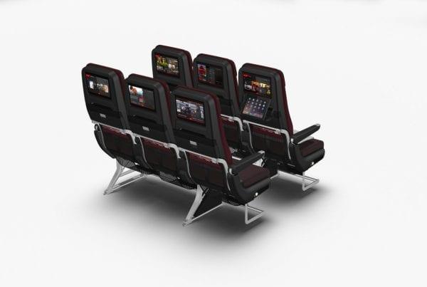 Qantas Dreamliner 787 economy seats