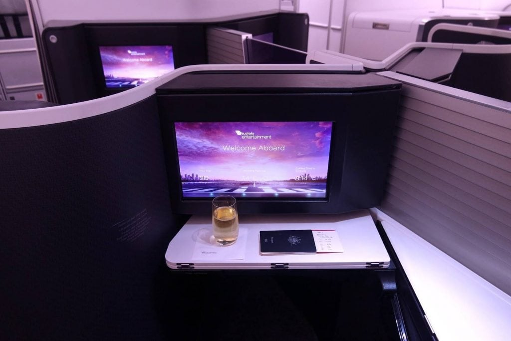 Virgin Australia Business Class The business a330 seat