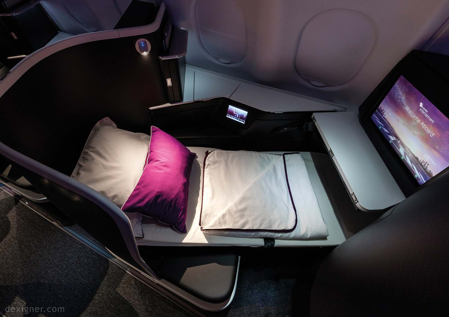 Transcontinental Virgin Australia Business Class