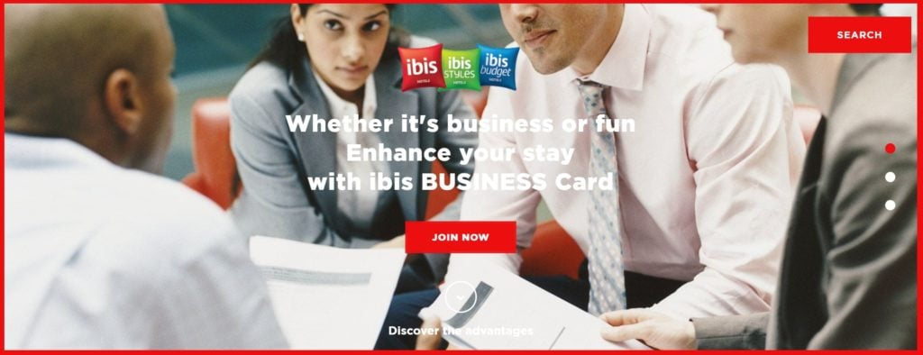 Get instant Accor Gold status with Ibis Business Card
