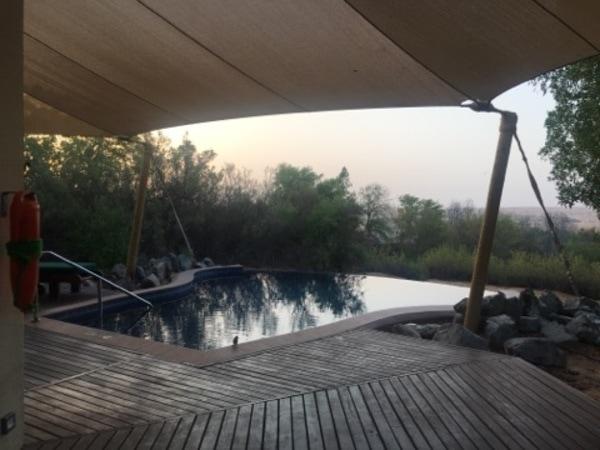 Al Maha Desert Resort, Al Diwaan, Dubai, Starwood private pool