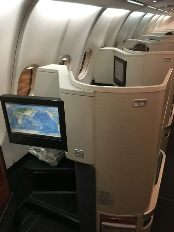 Cathay Pacific Business Class A330 Review