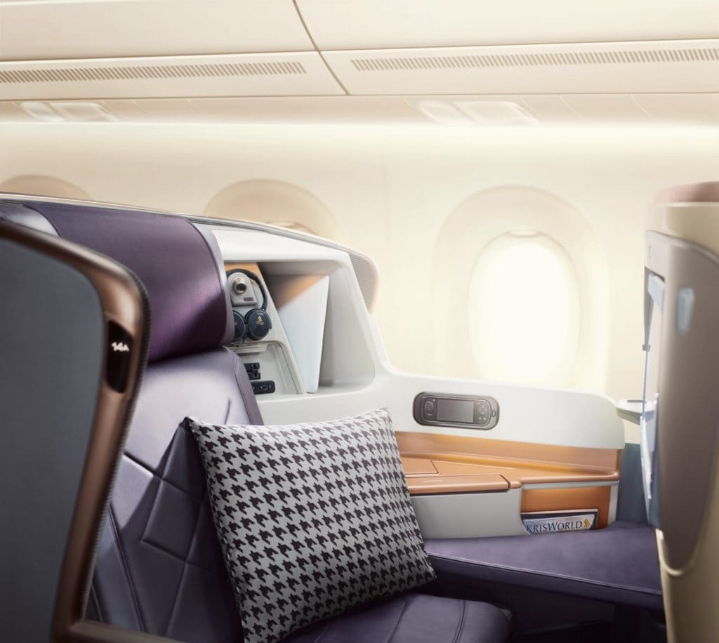 Singapore Airlines A350 adele