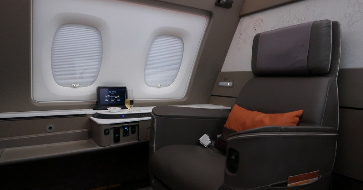 Three fabulous first class flights to book for less than 55,000 points