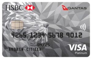 HSBC Platinum Qantas Credit Card VISA