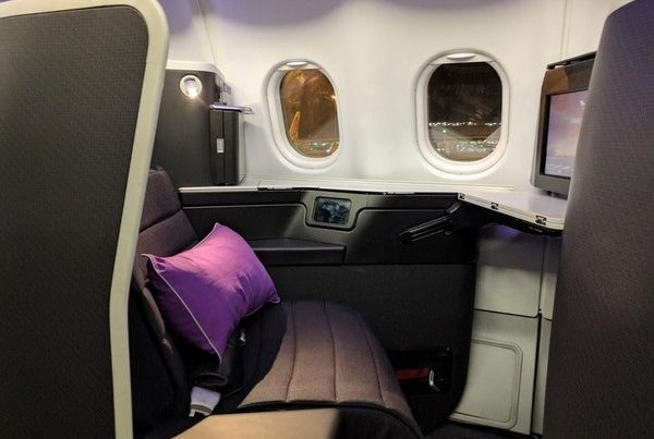 Virgin Australia A330 Business Class seat Velocity Frequent Flyer