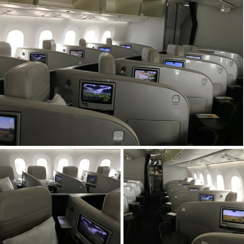 Air New Zealand Business Class review