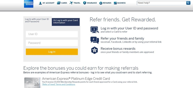 referral card examples