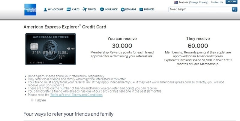 Amex refer a friend program how to earn up to 200k points per year how to use amex refer a friend reheart Images
