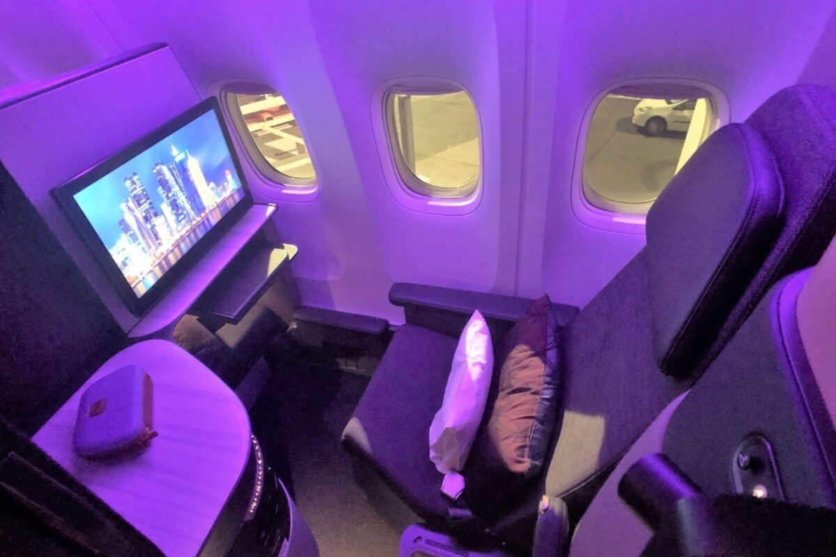 Qatar Airways Qsuite Business Class Review: Paris to Doha