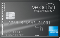 Velocity Platinum American Express Credit Card
