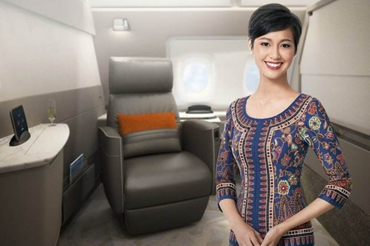 Singapore Airlines First Class new suites