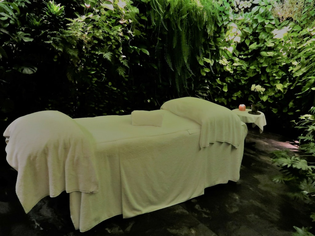 qantas first treatment room bed