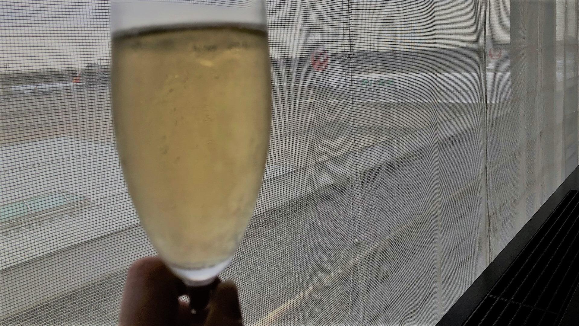 Japan airlines sakura first class lounge (1)