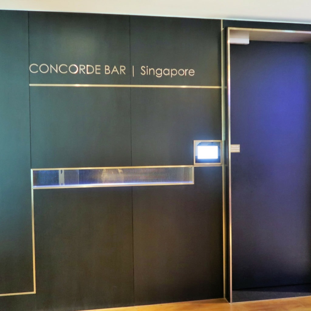 british airways lounge singapore review
