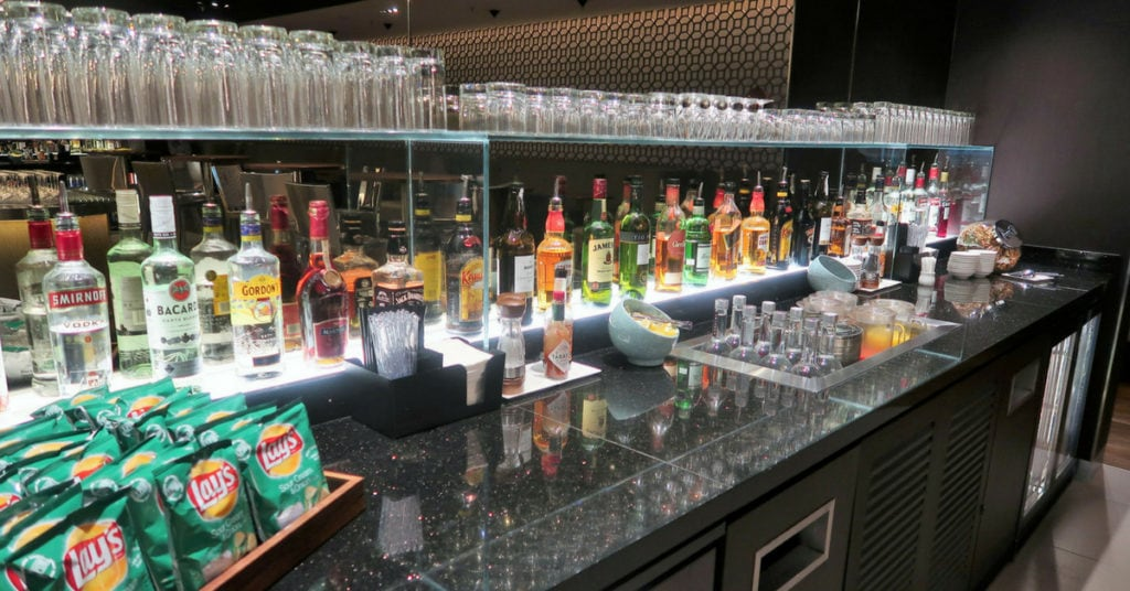 british airways singapore lounge review