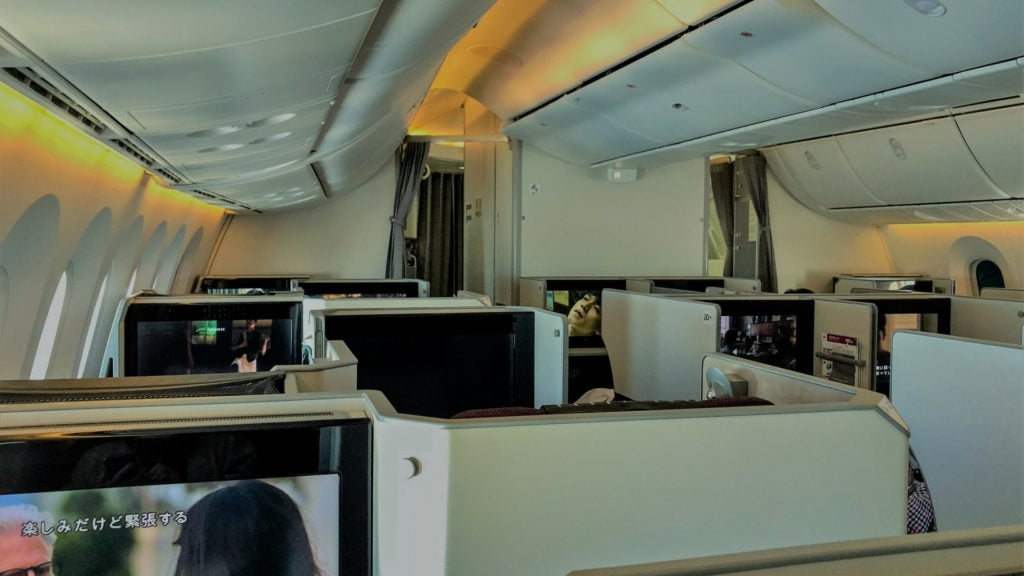 japan airlines business class (1)