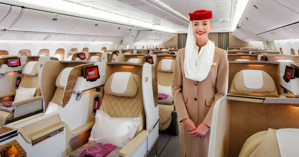 emirates skywards business class