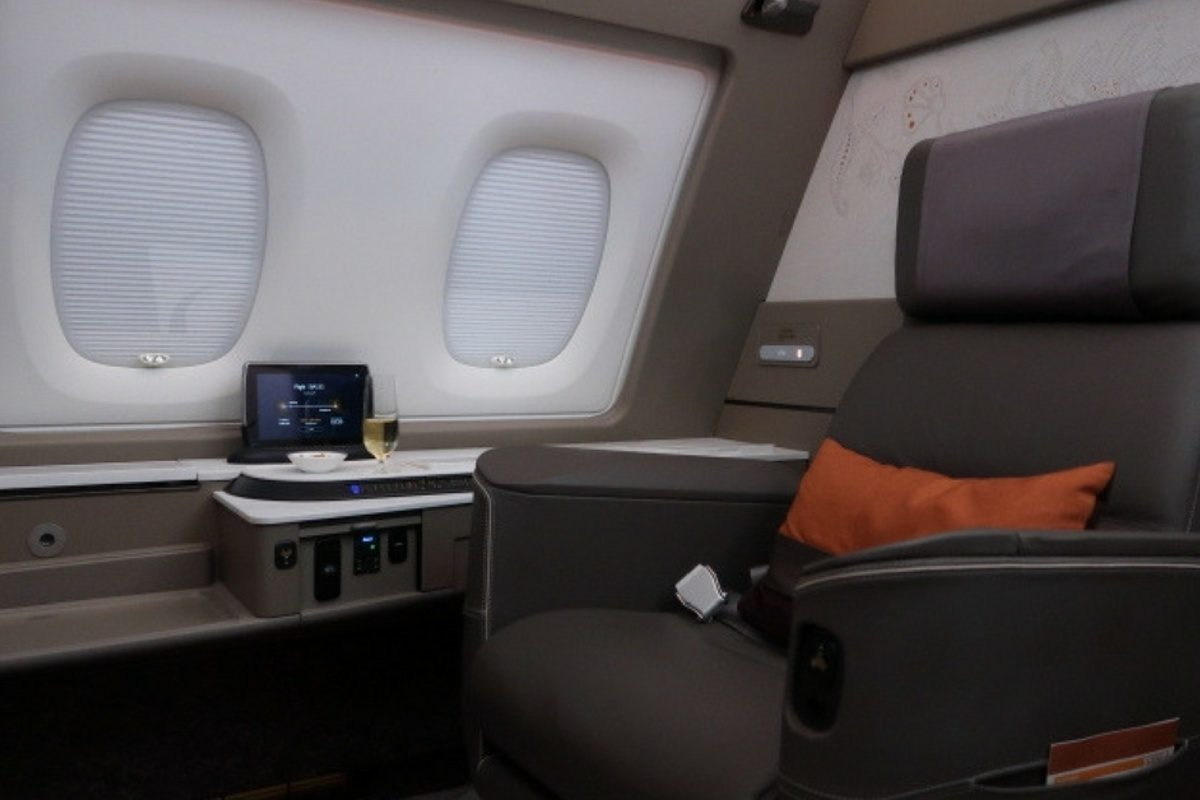 Suite Life: Testing out the new Singapore Airlines First Class Suite