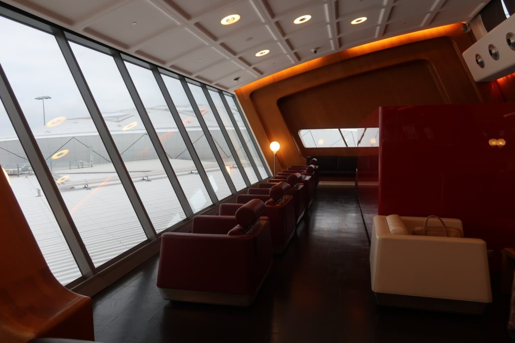 Visiting the exclusive Qantas First Class Lounge at Sydney Airport