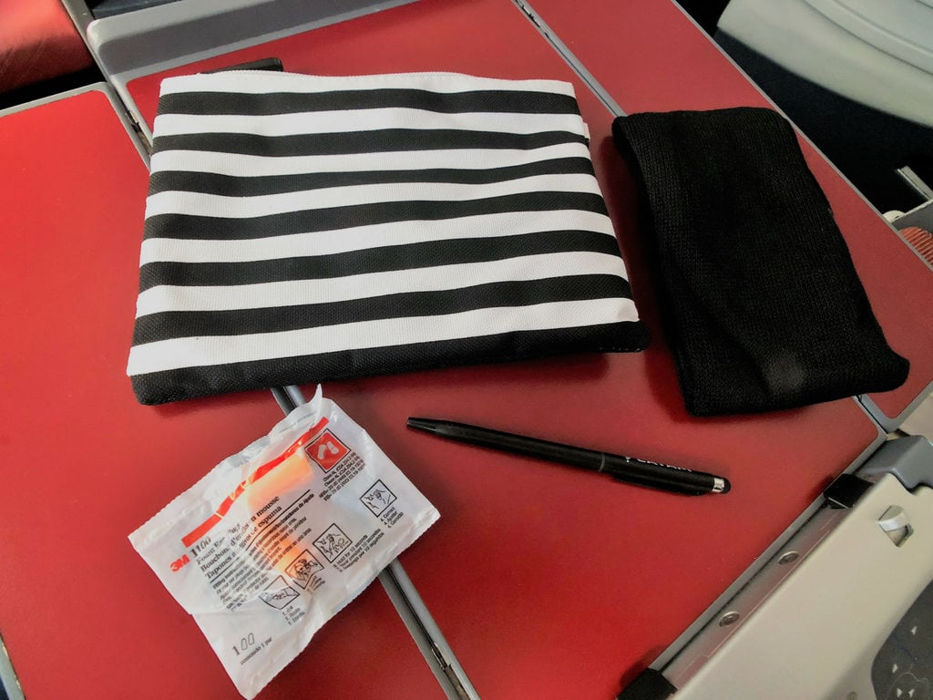 Latam business class AMENITY KIT