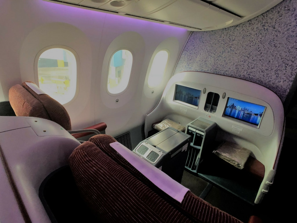 LATAM business class Sydney to Auckland review