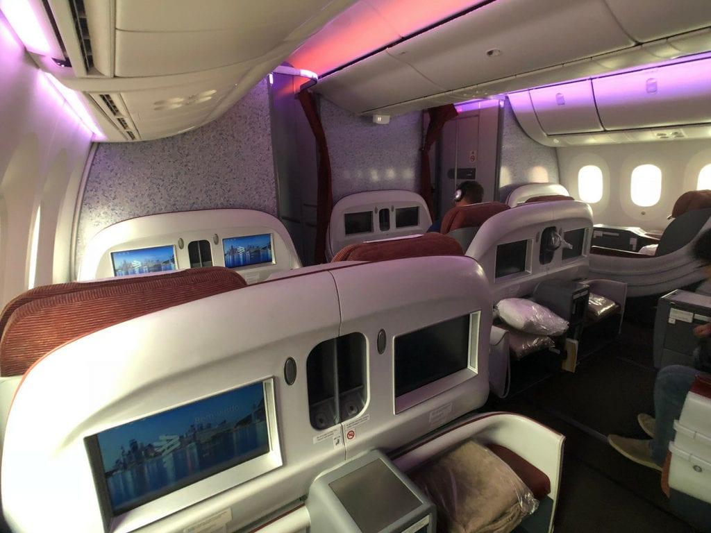 Latam business class cabin AGAIN