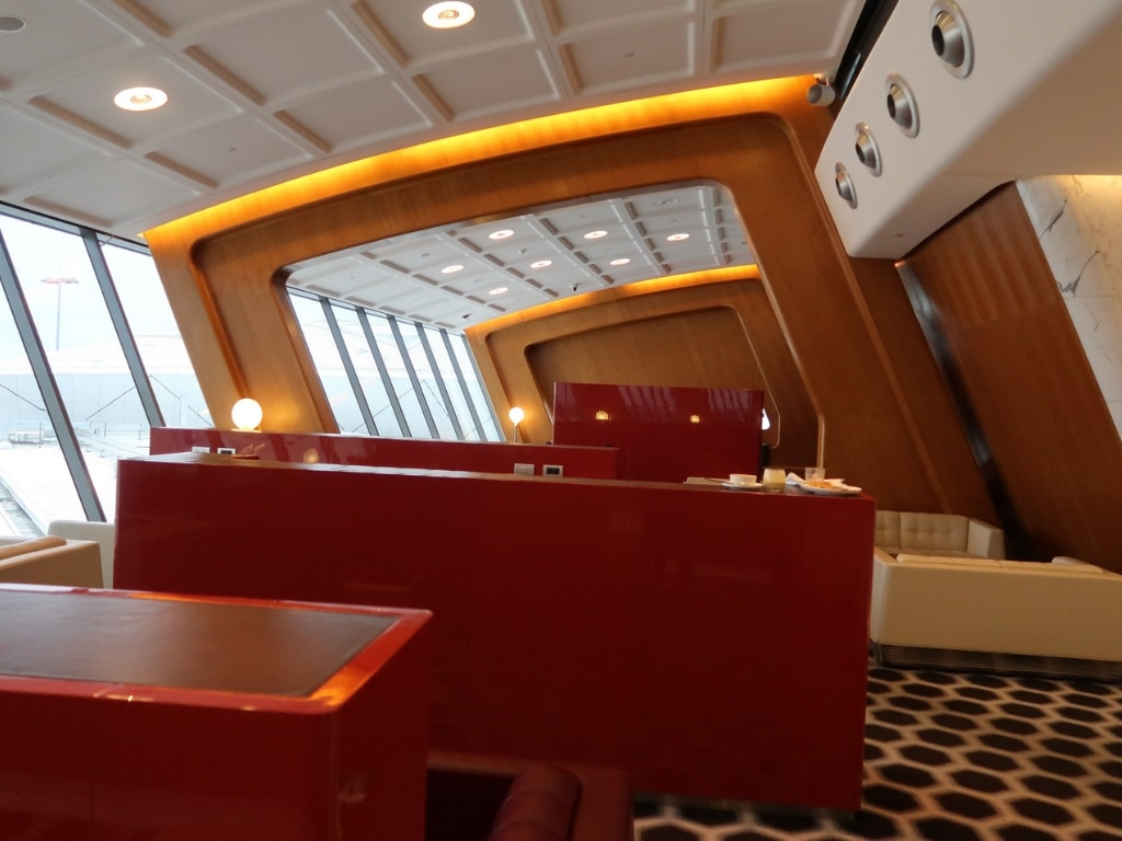 qantas first class lounge sydney 4