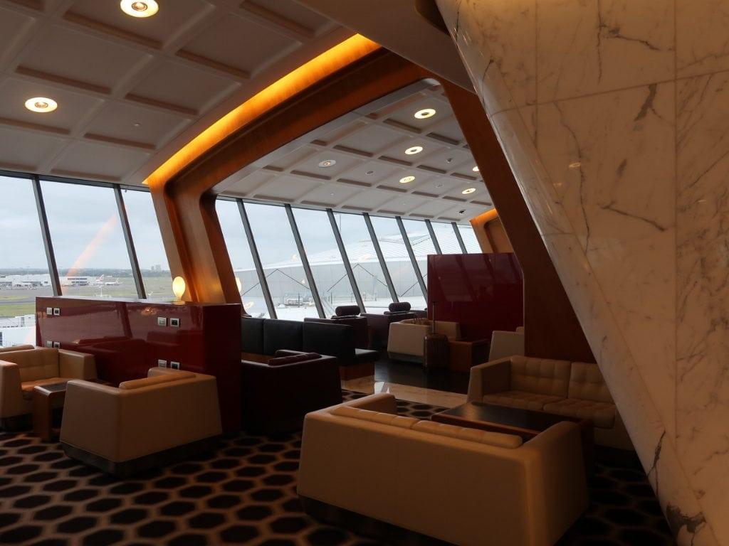qantas first class lounge sydney 5
