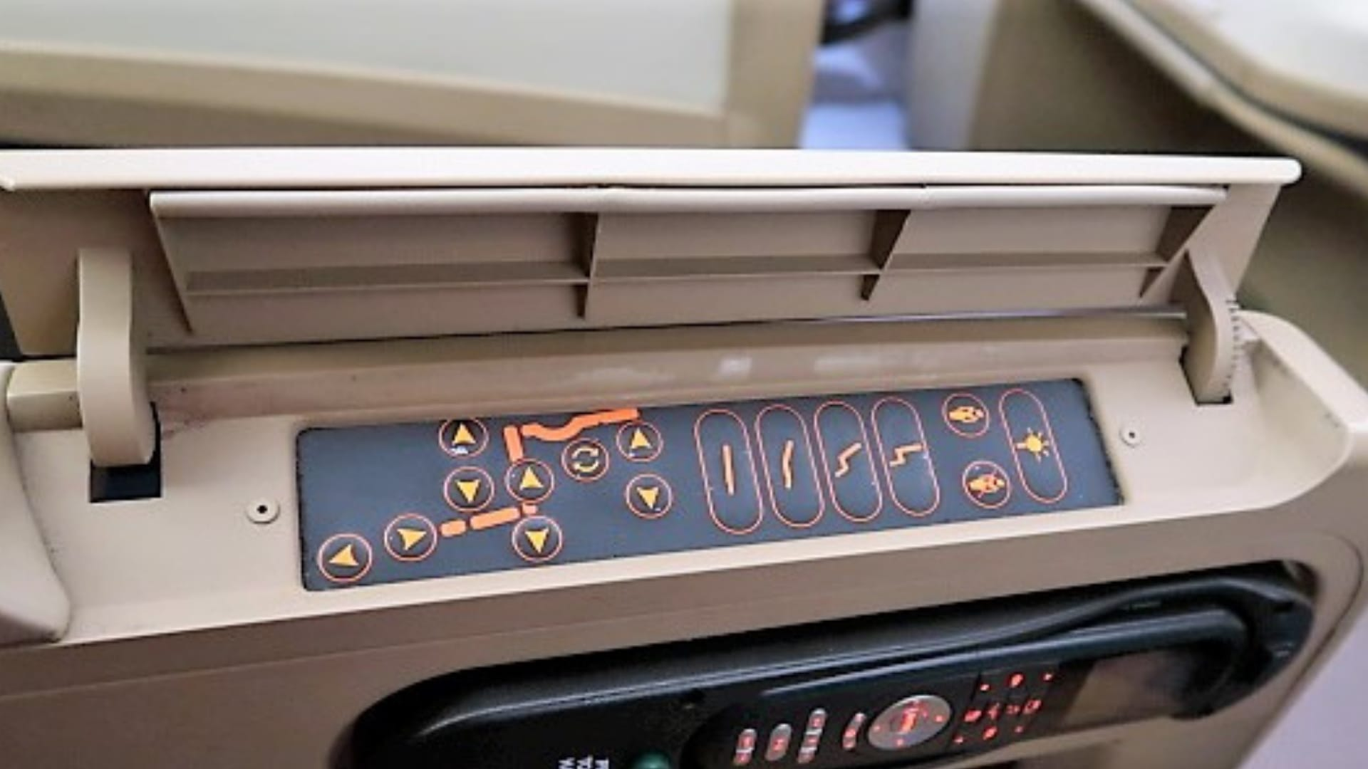 singapore airlines a330 business class seat controls better