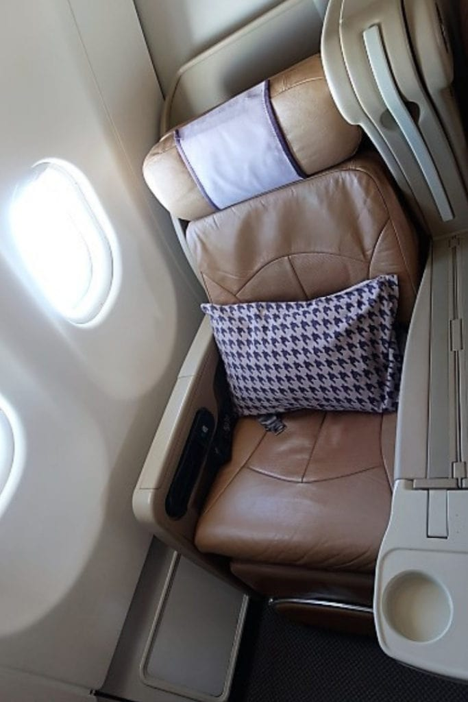 singapore airlines a330 business class seat windows