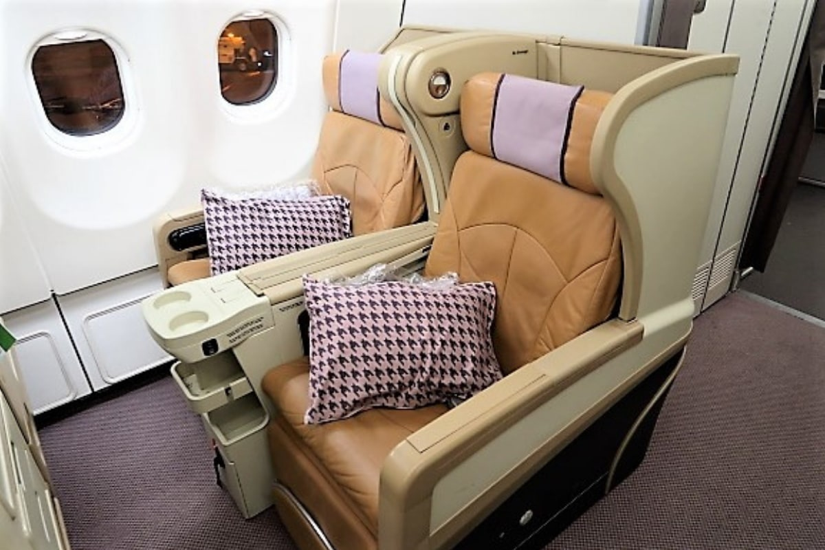 Singapore Airlines business class review: A330