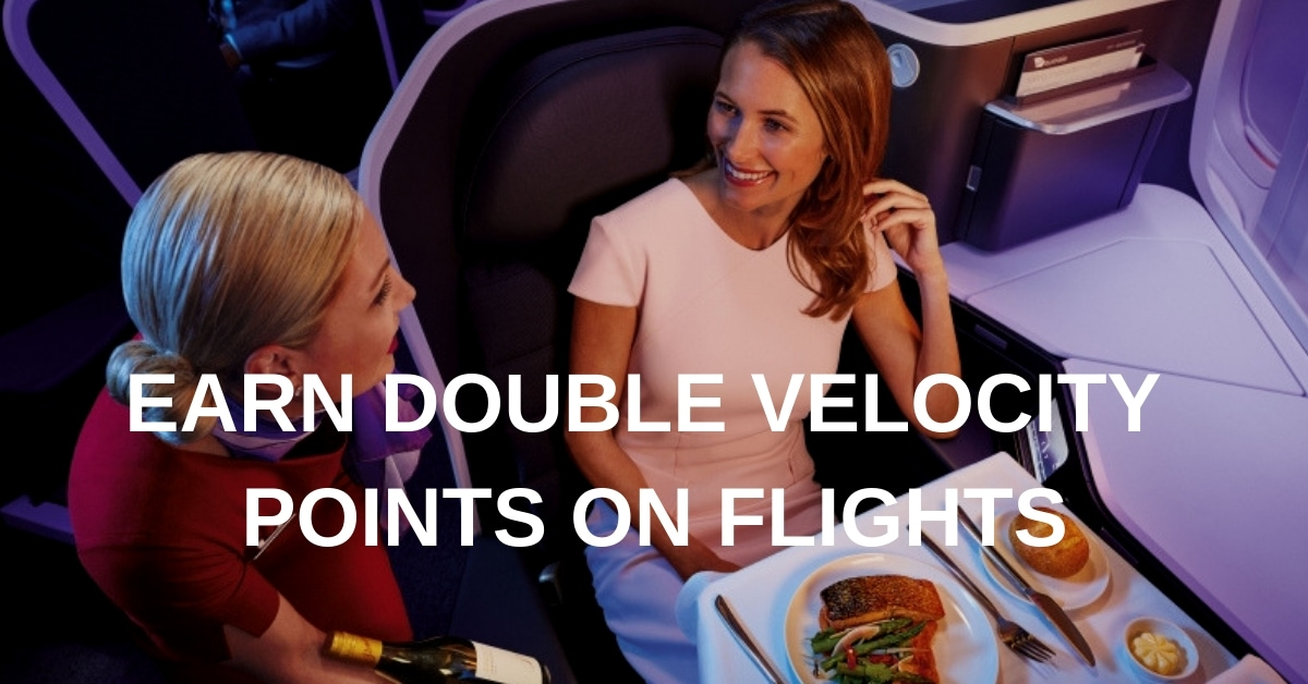 DOUBLE VELOCITY POINTS