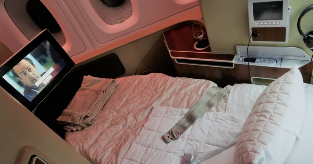 Qantas A380 first class review