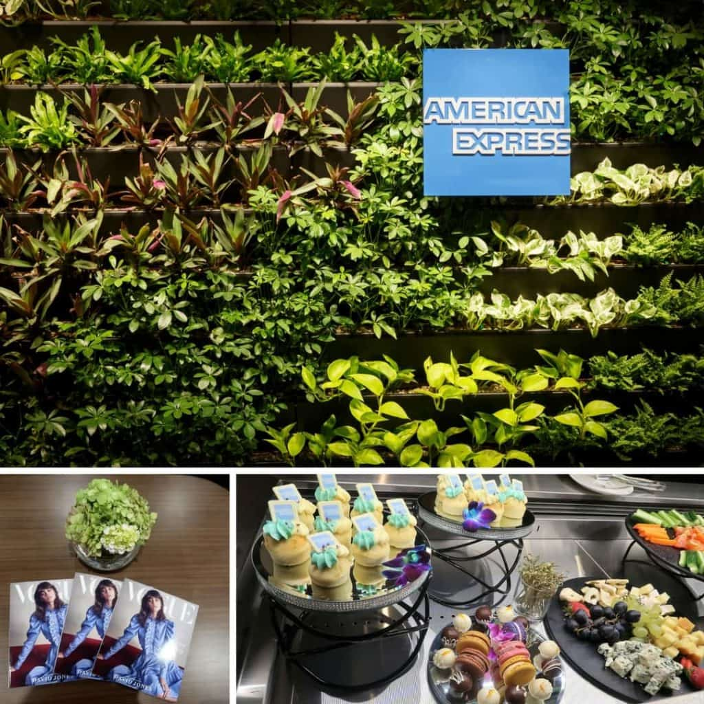 American Express Lounge at Melbourne Airport montage 1