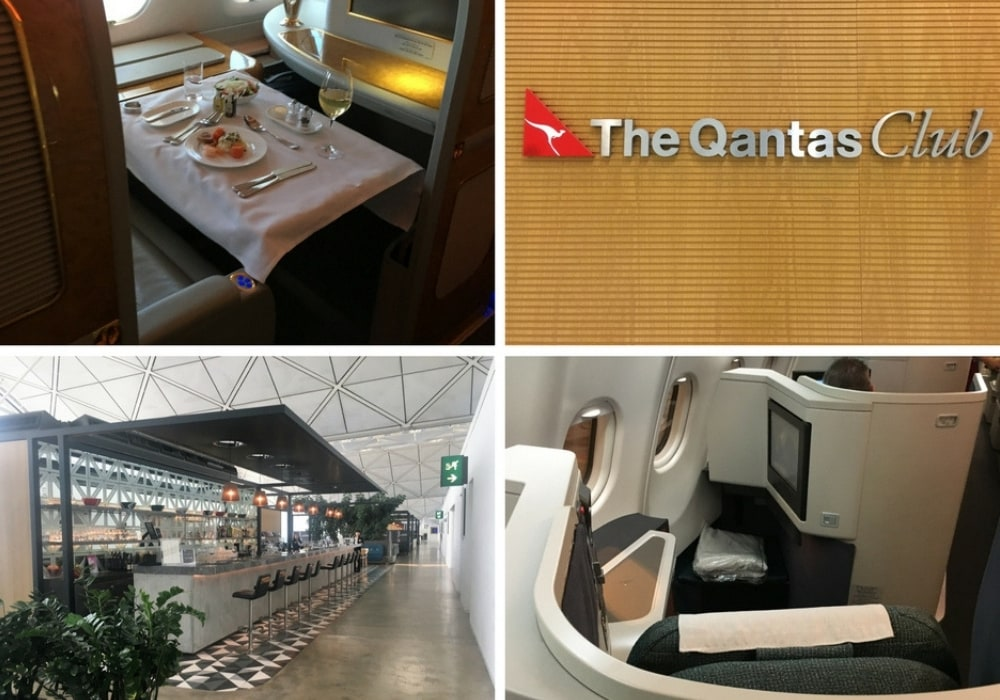 qantas club lounge hong kong
