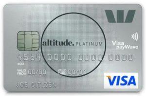 westpac altitude platinum visa