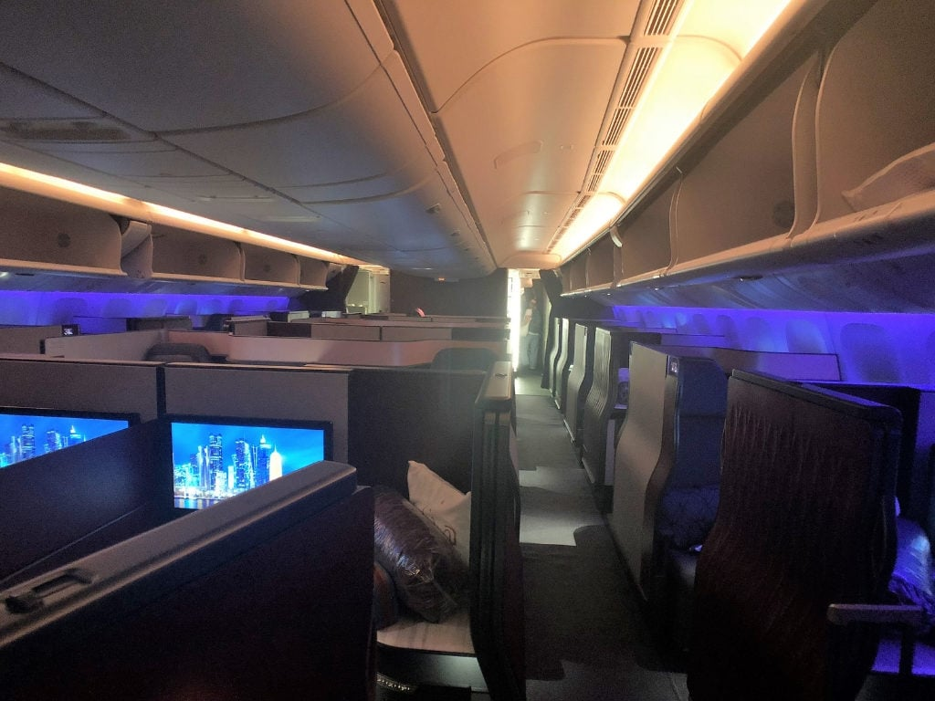 Qatar qsuite business class review