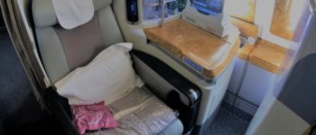 Inside Emirates business class: Dubai to Melbourne