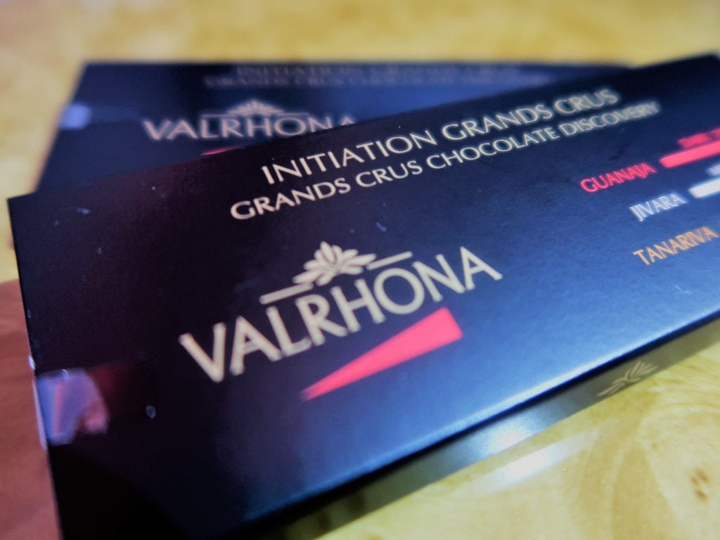 emirates business class review a380 valrhona chocolate