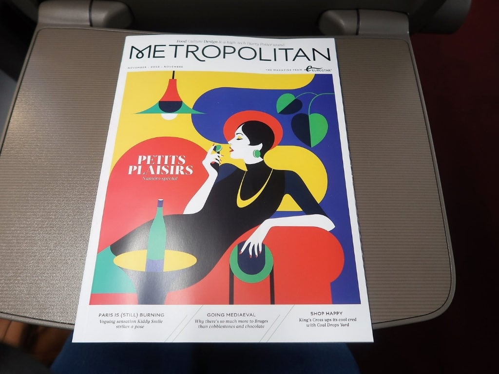 eurostar train review metropolitan magazine