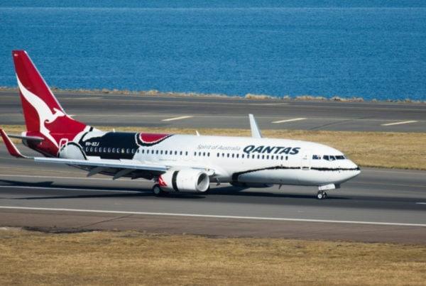 qantas 737 domestic business class