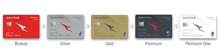 qantas frequent flyer status tiers membership