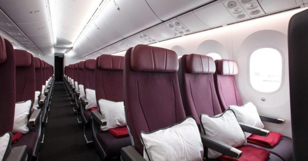 qantas seat selection dreamliner economy