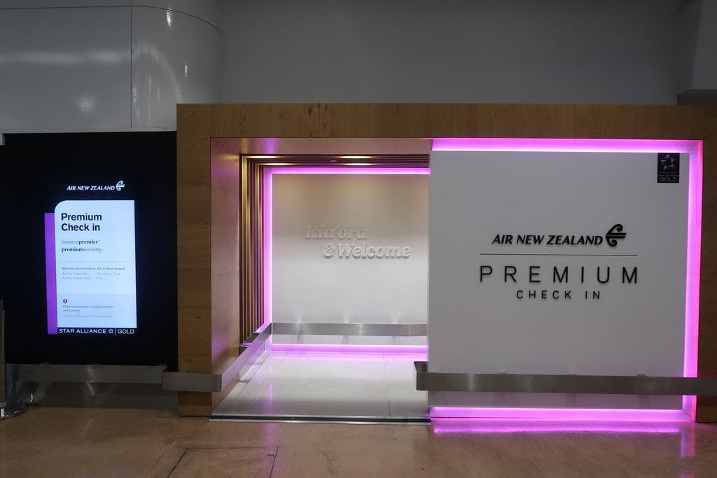 air nz entrance auckland airport