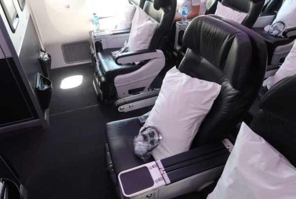 premium economy cabin - air new zealand