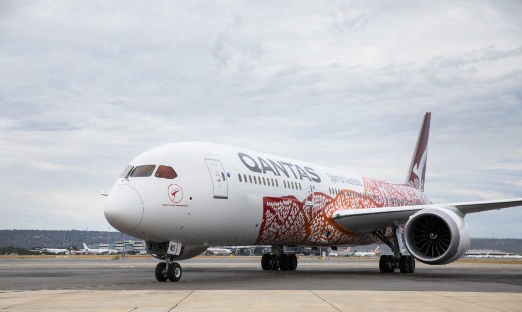 Qantas Dreamliner Emily Kame Kngwarreye