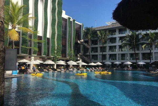 The Stones Legian Bali courtyard