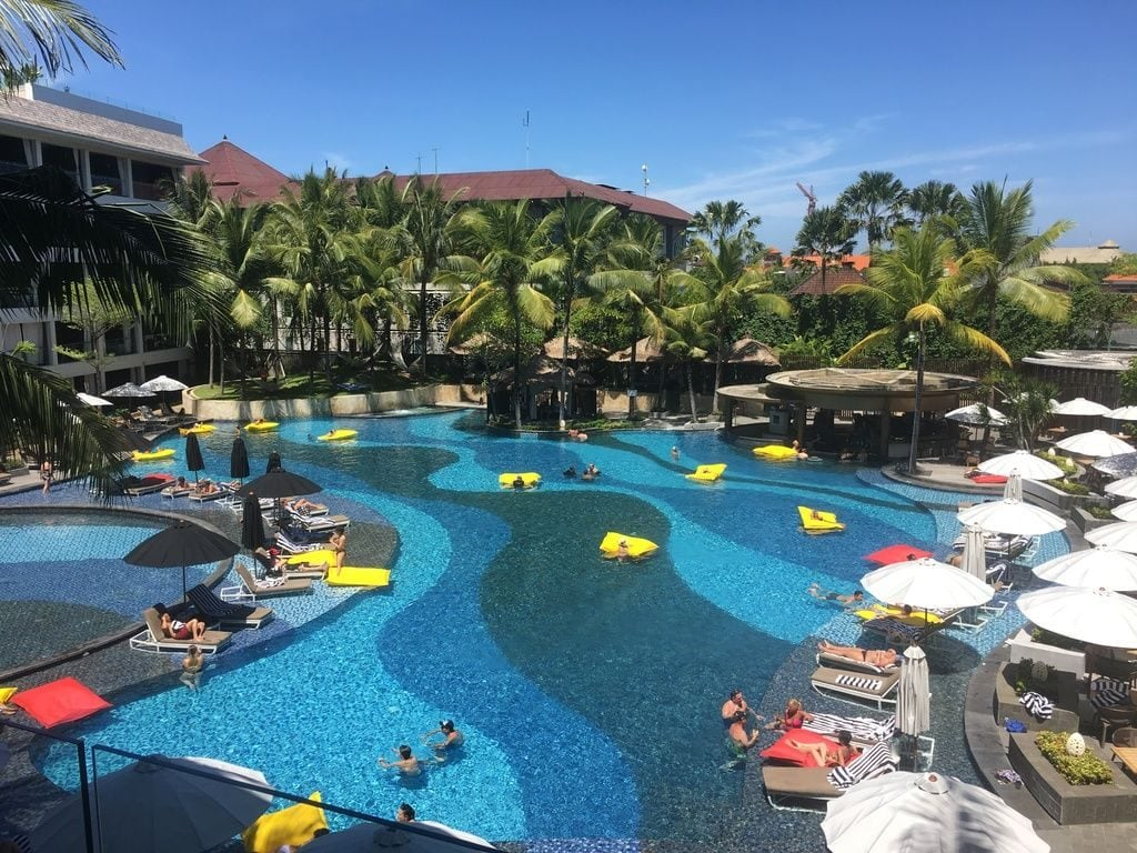 The Stones Legian Bali pool